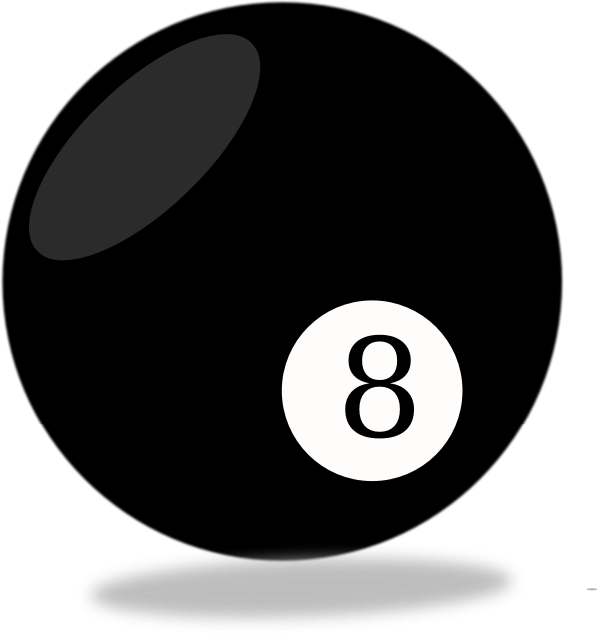 8 Ball by Cows_In_Action - A classic 8 ball.