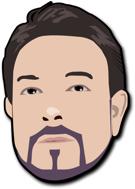 Me by mi_brami - My cartoonized SVG avatar
