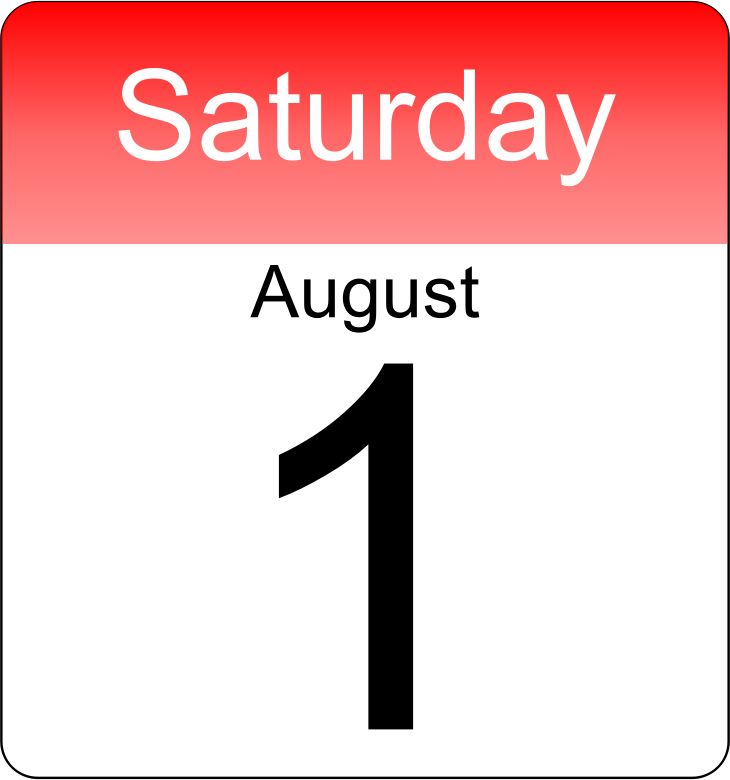 Day Calendar by JayNick - From the eBook, A New Day. Script sets the calendar to today's date when loaded. SVG code can be inserted into an SVG image then scaled and positioned where desired.