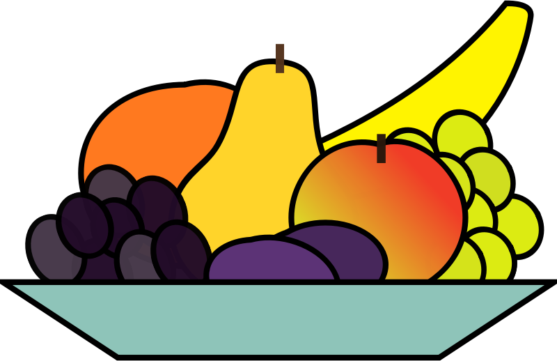 fruit plate by OlKu