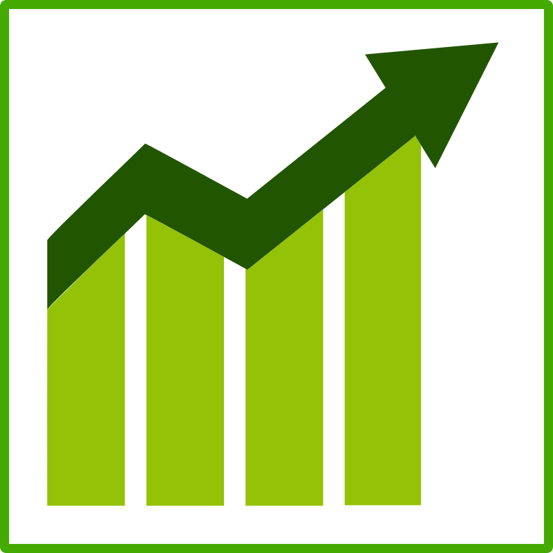 eco green growth icon by dominiquechappard