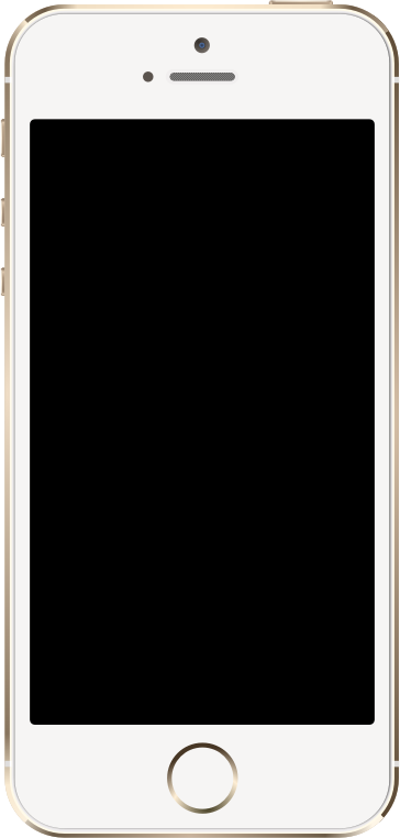 iPhone 5S Gold by jhnri4 - iPhone 5S Gold created in Inkscape.