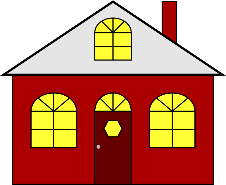 Lighted House by JayNick - From the eBook, I Love to Color, Play, and Learn. Script turns the lights on/off when clicking on the SVG image. SVG code can be inserted into an SVG image then scaled and positioned where desired.