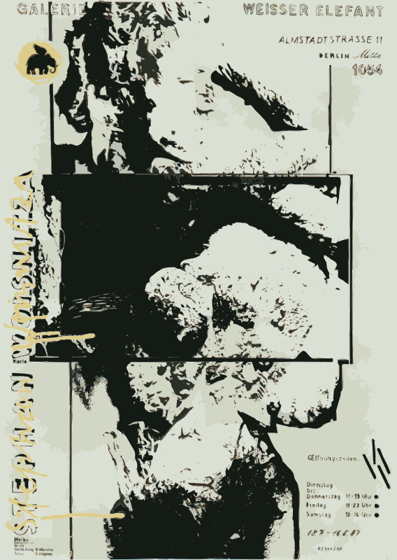 Posters 1977-1988 No. 128 by thomas_guenther - Thomas Guenther Archive Berlin - works in the public domain http://edition-galerieaufzeit.de/