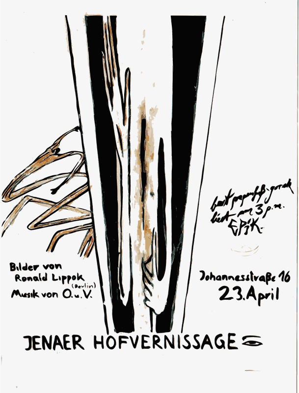 Posters 1977-1988 No. 132-2 by thomas_guenther - Thomas Guenther Archive Berlin - works in the public domain http://edition-galerieaufzeit.de/