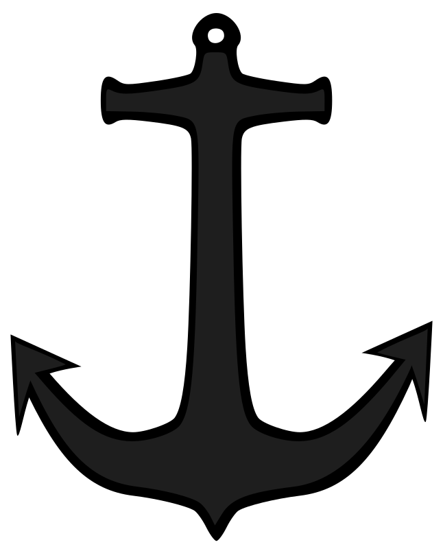Simple anchor by bogdanco - An anchor silhouette.