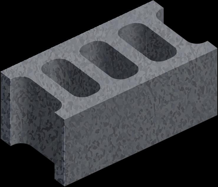 Clipart Hollow Bricks