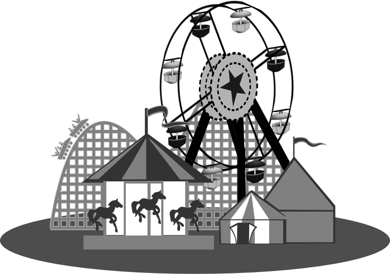 clipart carnival b w circus tent clip art png circus tent clip art silhouette
