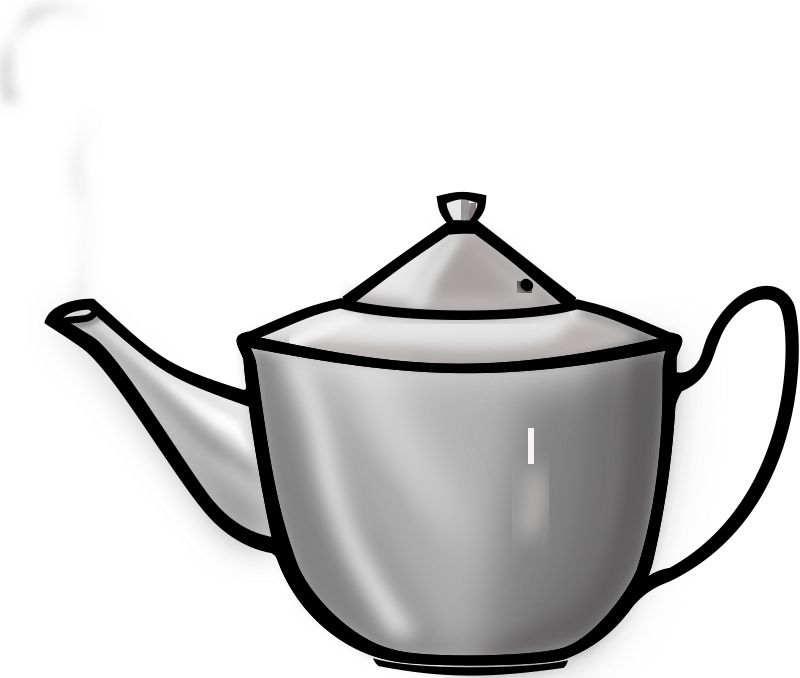 Metal Tea pot by PrinterKiller