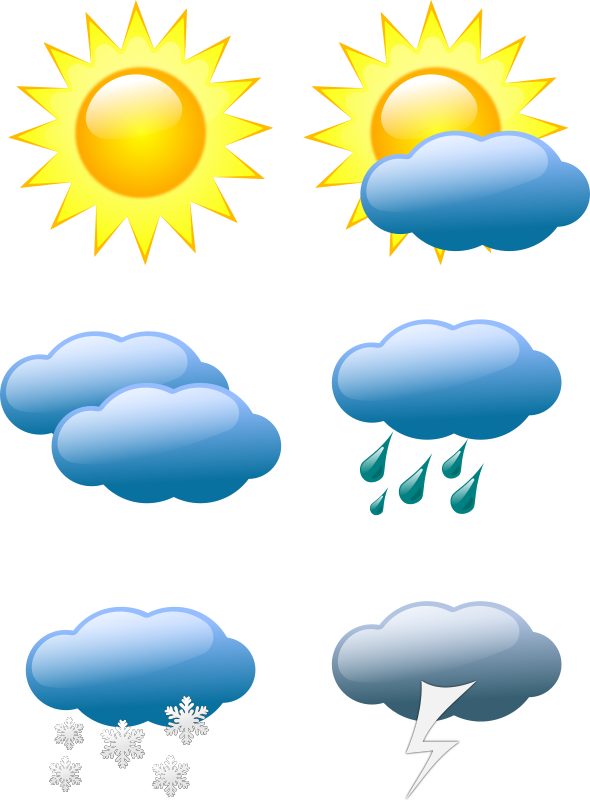 weather symbols by sivvus