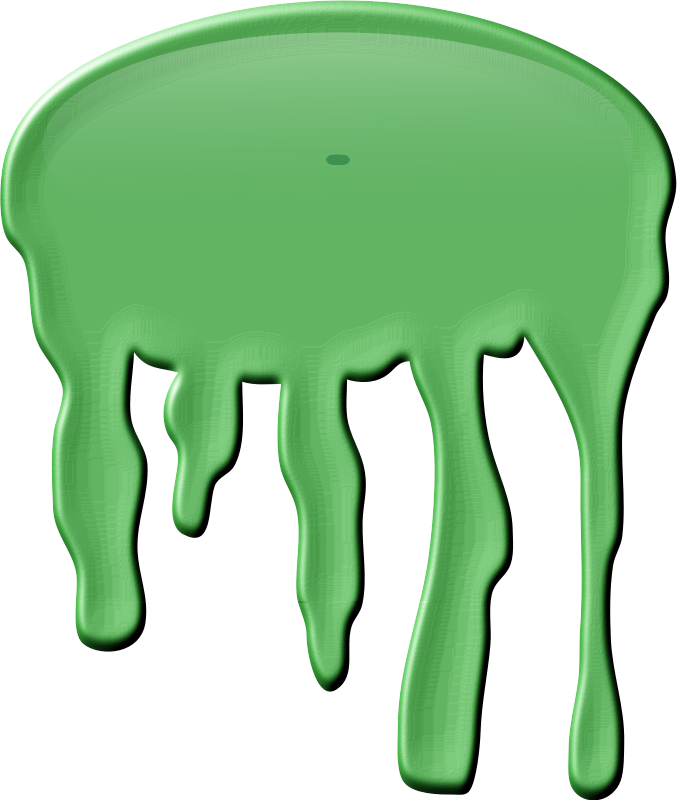 Green Glob by Arvin61r58 - dripping green slime