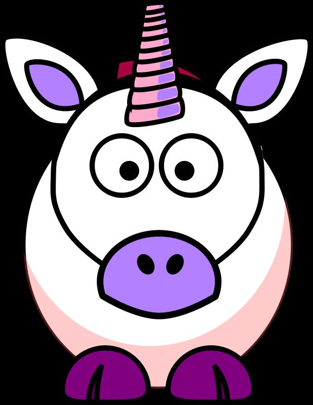 animated unicorn clipart - photo #12