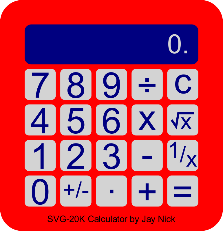 Scripted Calculator by JayNick