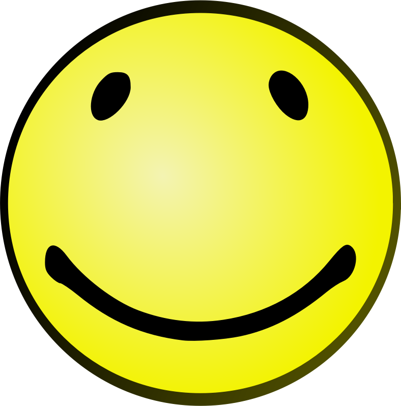 Clipart - Oval Smile
