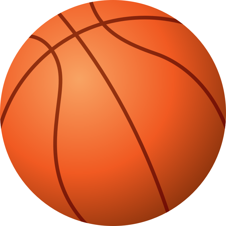 Basketball by sprint - Traditional eight-panel basketball, a spherical inflated ball used in the game of basketball.