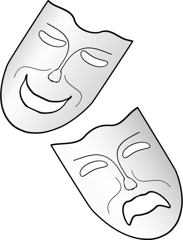 Comedy and Tragedy by Arvin61r58 - Comedy & Tragedy masks