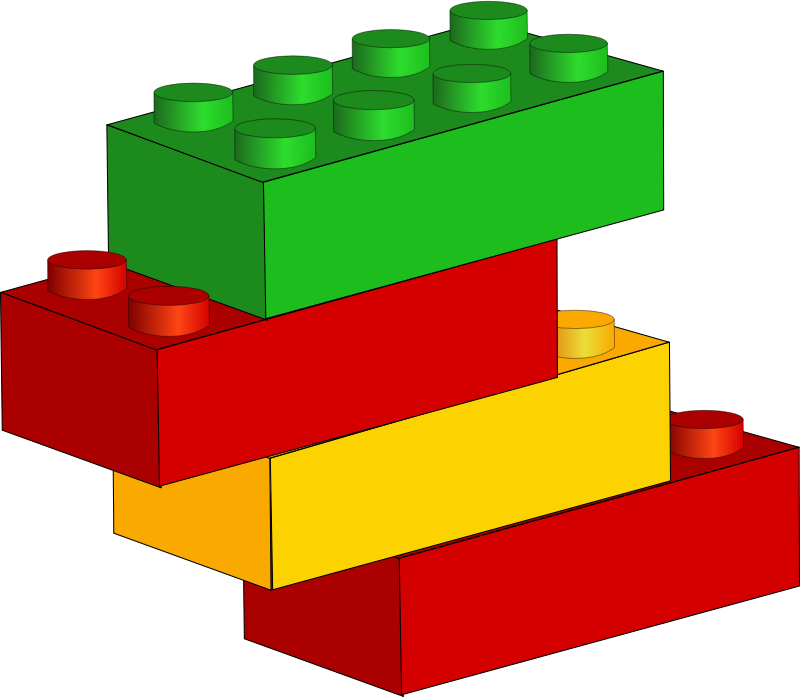Clipart - Bricks