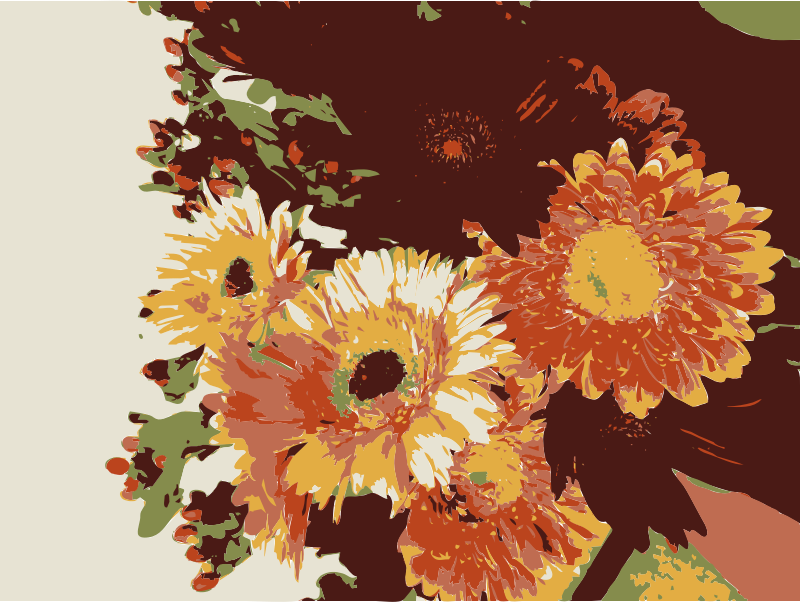 Bday by jilllio -  flowers vectorized