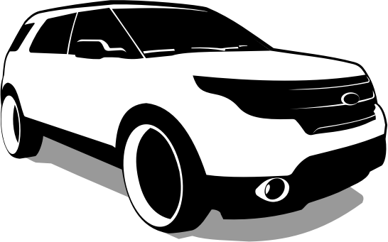 Clipart Ford Explorer Vector
