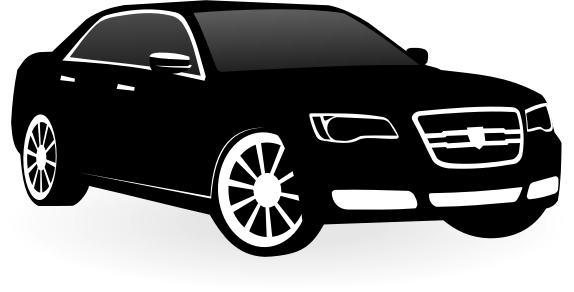 Chrysler 300c vector by waider - Chrysler 300c car. Free vector graphics.