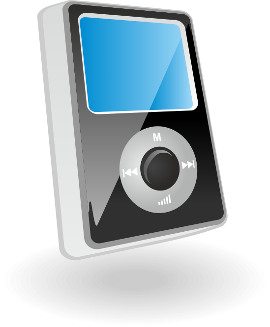 Clipart Mp3 Player Vector