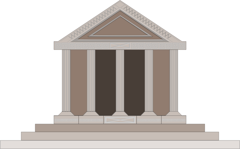 Parthenon by GusEinstein - representation of the Greek Parthenon