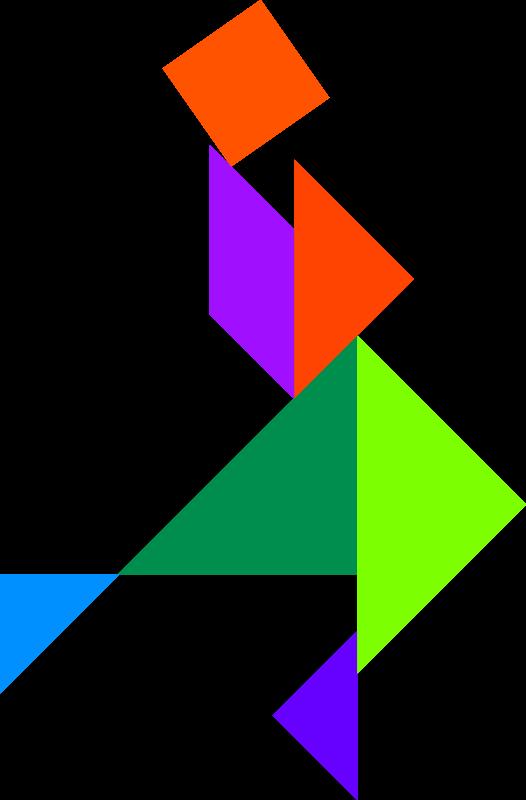 answer , figure , pussle , shape , tangram