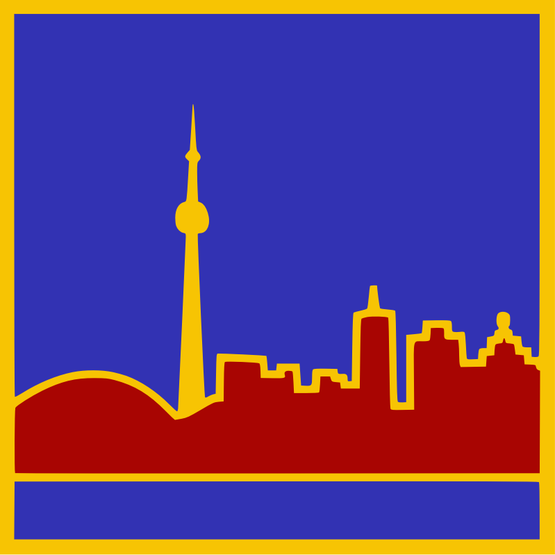 Stylized Toronto Skyline by kapn - stylized Toronto skyline