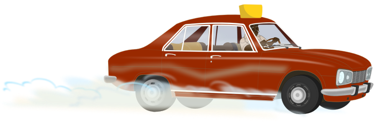 peugeot 504 by Markacio - A vehicle I have made for a tv project serie. All made with InkScape without picture support, only my travel memories.