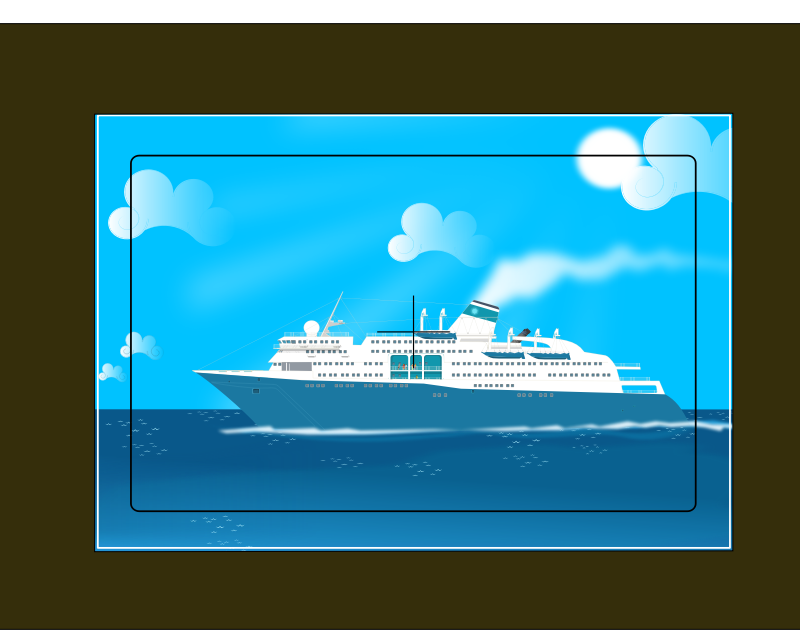 "cruise boat by Markacio - I alway wonder how magical a cruise trip in the ""Artic ocean"" can be?