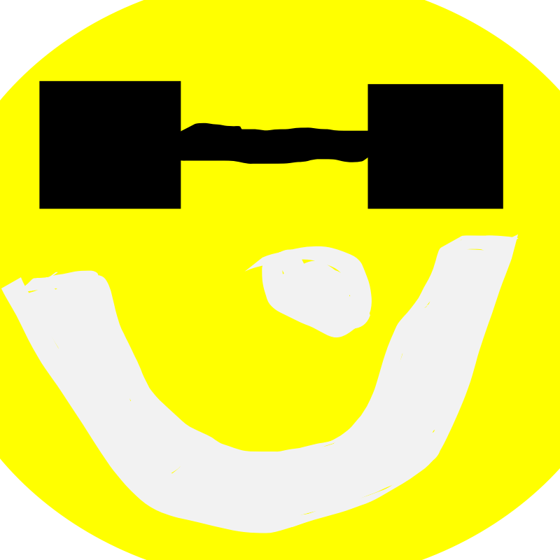 smiley sun with glasses by MatthewtheBemma - hey this is my awful looking sun i am sorry it is so bad but please look at some of my other art work and dont ahte because thats not nice