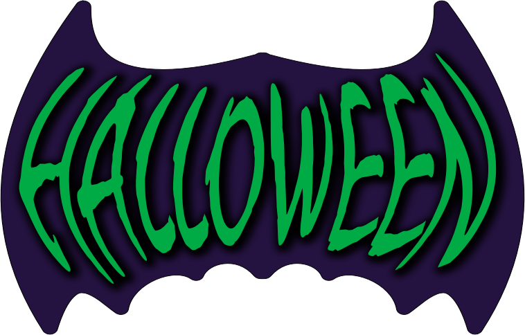 Clipart - Halloween writing