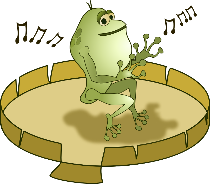 Frog Dancer by GusEinstein - Just a frog dancer