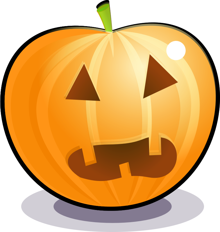 Scared pumpkin by Magnesus