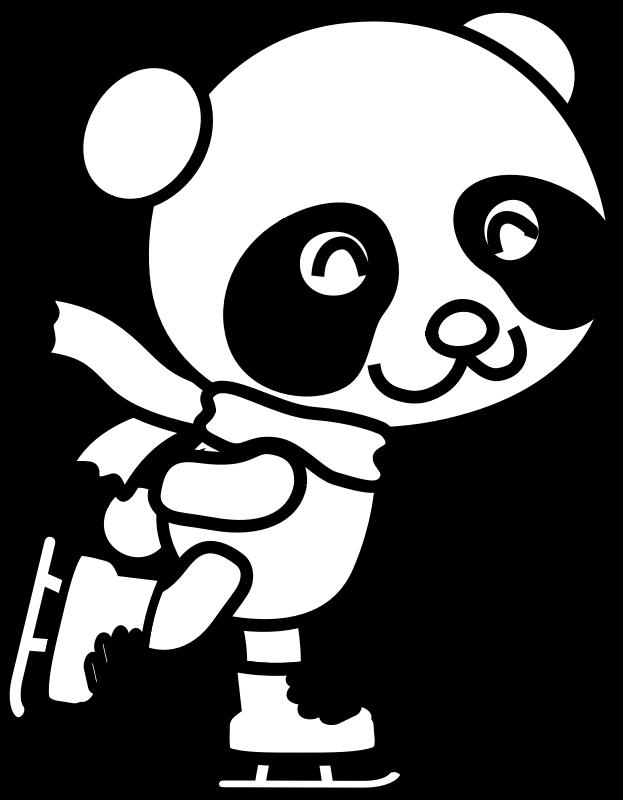 kleurplaat rode panda dieren kleurplaten kleine schattige