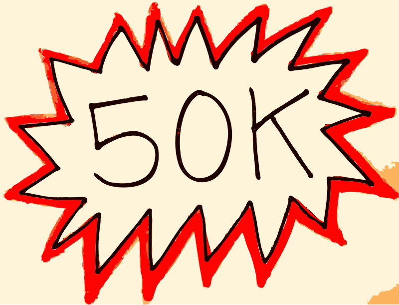 Openclipart hits 50K! by openclipart