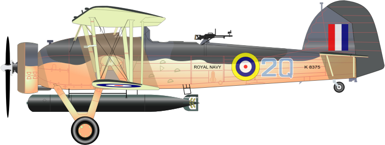 FAIREY SWORDFISH MK 1 by charner1963 - MADE WITH INKSCAPE