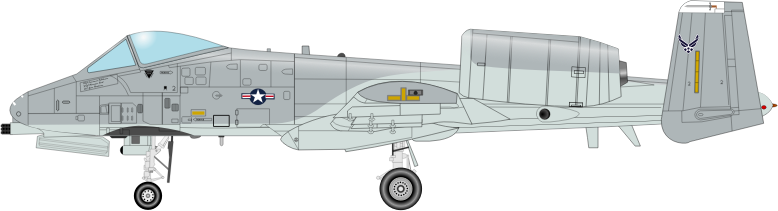 A 10 THUNDERBOLT by charner1963 - MADE WITH INKSCAPE