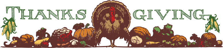 thanksgiving header color by johnny_automatic - from the Columbia Evening Missourian, 1922