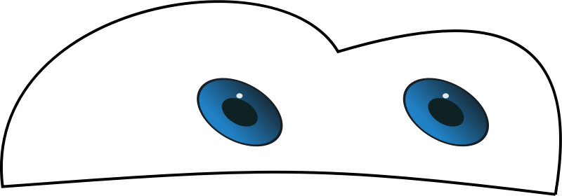 car eyes by gramic - Car eyes like the one from the movie cars.