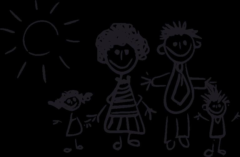 Dibujos de familia png imagui - Familias en blanco y negro ...