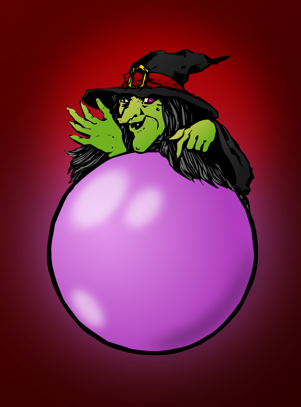 clipart colored crystal ball clip art witches broom clip art witch's hat