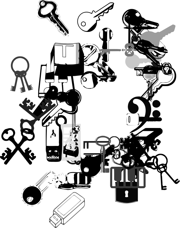 Samys Keys N Keys by SVG Fonts - Source http://openfontlibrary.org/en/font/samys-keys-n-keys