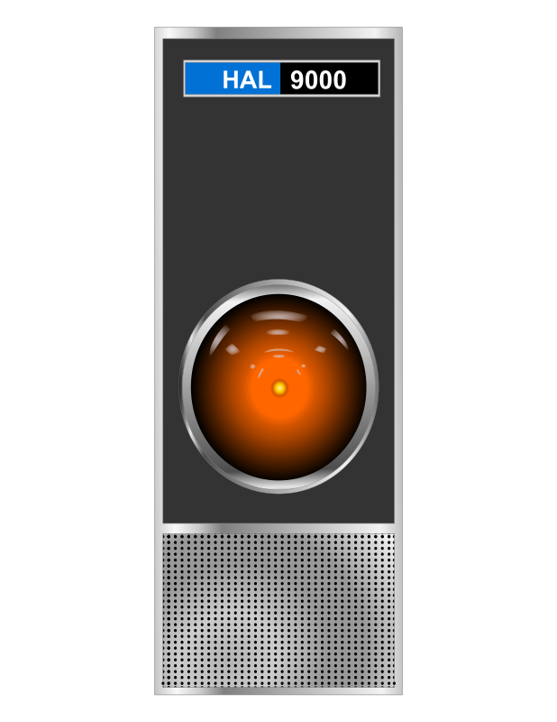 HAL 9000 by charner1963 - MADE WITH INKSCAPE