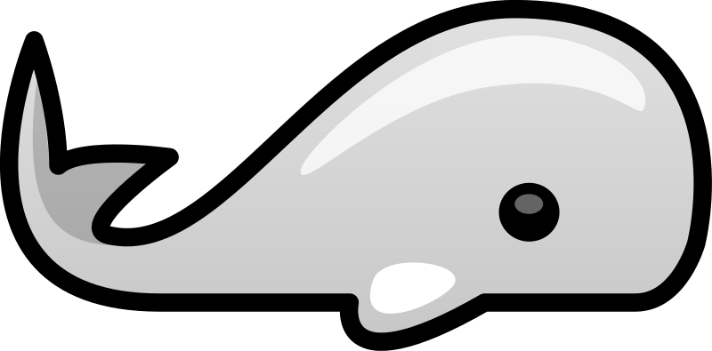 Small whale by lemmling - Small whale I made for a logo.