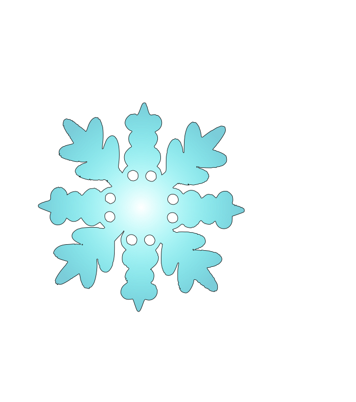 snow flake 2 by zecas