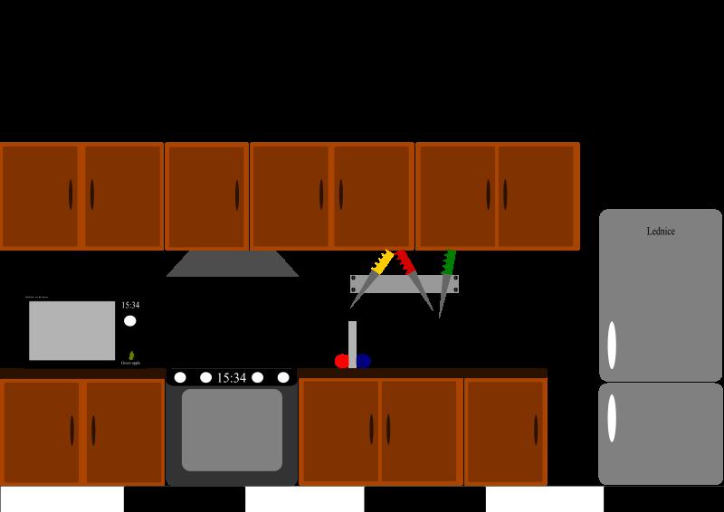 Kitchen Cabinet Clip Art Free