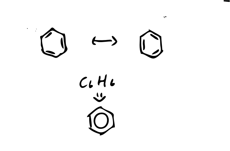Benzene Form by 按摩人 - This is how benzene form.