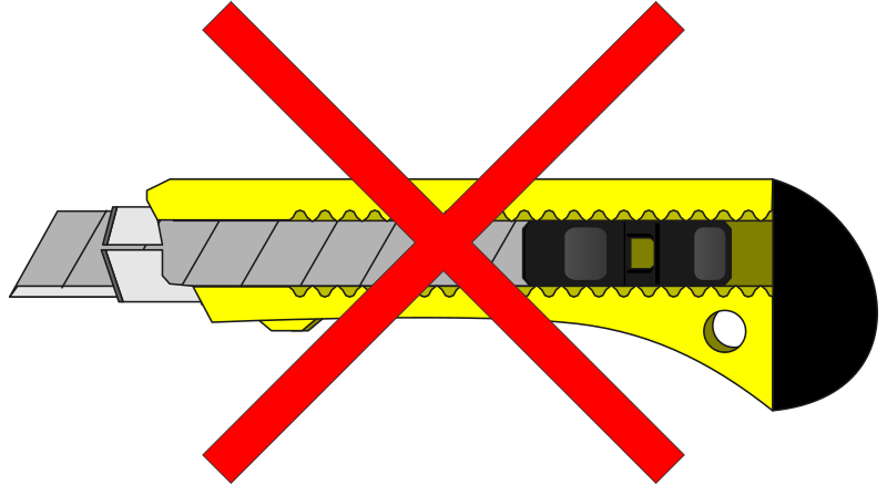 no knifes by Keistutis - penknife, knife, peiliukas