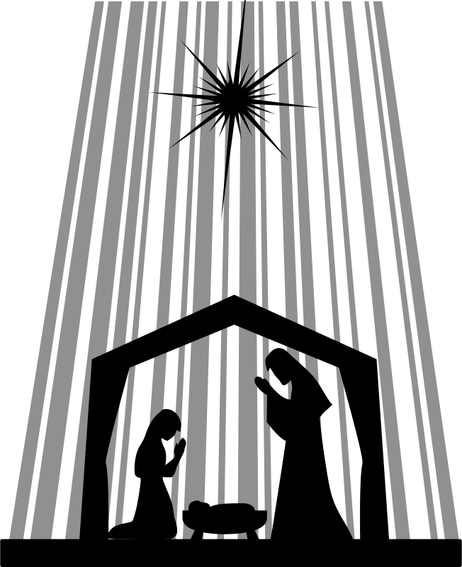 Nativity Silhouette by j4p4n